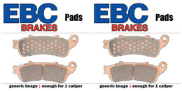 EBC Double-H Sintered Metal Brake Pads EPFA435 4HH (2 Packs Enough for 2 Rotors)
