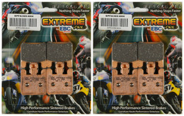 EBC Double-H Sintered Metal Brake Pads EPFA369 4HH (2 Packs Enough for 2 Rotors)