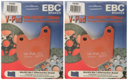 EBC Brake Pads FA72V (2 Packs - Enough for 2 Rotors)