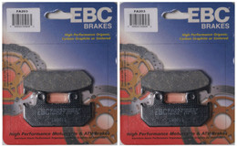 EBC Organic Brake Pads FA203 (2 Packs - Enough for 2 Rotors)