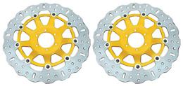 EBC Contour Front Disc Rotors MD800XC (2 Rotors - Bundle)