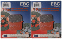 EBC Brake Pads FA68V (2 Packs - Enough for 2 Rotors)