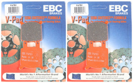 EBC Brake Pads FA76V (2 Packs - Enough for 2 Rotors)