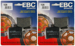 EBC Organic Brake Pads FA298 (2 Packs - Enough for 2 Rotors)