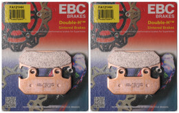 EBC Double-H Sintered Metal Brake Pads FA121HH (2 Packs - Enough for 2 Rotors)