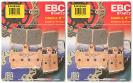 EBC Double-H Sintered Metal Brake Pads FA499 4HH (2 Packs - Enough for 2 Rotors)