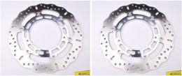EBC Polished Hub Disc Rotorss MD2082CC (2 Rotors - Bundle)