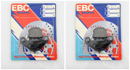EBC Organic Brake Pads FA83 2 (2 Packs - Enough for 2 Rotors)