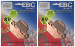 EBC Severe Duty Sintered Metal Brake Pads FA128SV (2 Packs Enough for 2 Rotors)