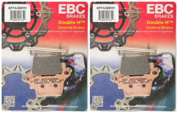 EBC Double-H Sintered Metal Brake Pads EPFA368HH (2 Packs - Enough for 2 Rotors)