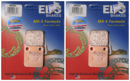 EBC Sintered Race Brake Pads MXS54 (2 Rotors - Bundle)