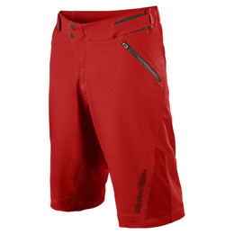 Troy Lee Designs Ruckus Shell Red Shorts