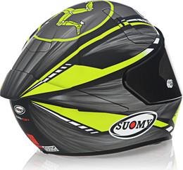 Suomy SR-GP On Board Matte Grey Yellow Helmet