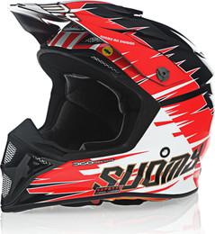 Suomy MX Speed Warp Red Helmet
