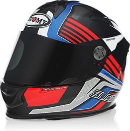 Suomy SR Sport Attraction Blue Red Helmet