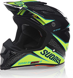 Suomy MX Speed Transition Yellow Helmet