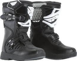 Fly Racing Maverik Mx Boots Black Youth