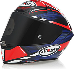 Suomy SR-GP On Board Blue Red Helmet