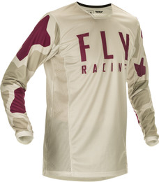 Fly Racing Youth Kinetic K221 Jersey Stone Berry