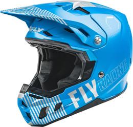 Fly Racing Formula Cc Primary Helmet Blue Grey