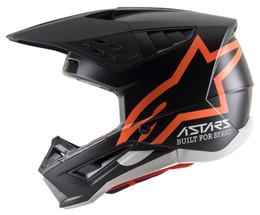 Alpinestars SM5 Compass Matte Black Orange Fluo Helmet