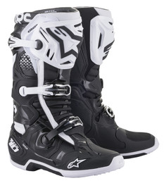 Alpinestars Tech 10 Black White Boots