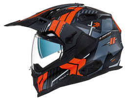 NEXX XWED 2 Wild Country Black Orange Helmet