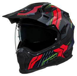 NEXX XWED 2 Wild Country Black Red Helmet