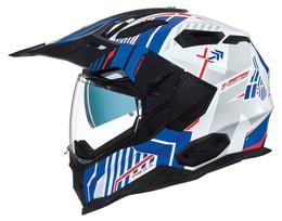 NEXX XWED 2 Wild Country White Blue Helmet