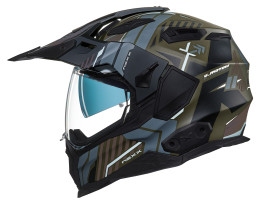NEXX XWED 2 Wild Country Grey Green Helmet