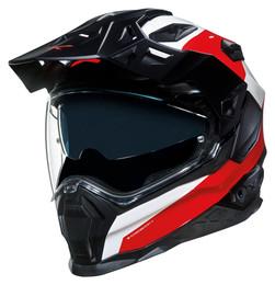 NEXX XWED 2 Duna Red White Helmet