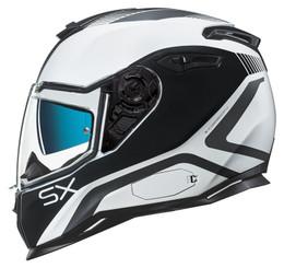 NEXX SX100 Popup White Black Helmet
