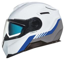 NEXX X-Vilitur Latitude White Blue Grey Helmet