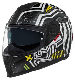 NEXX SX100 Enigma Matte Black Helmet