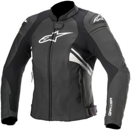 Alpinestars Stella Womens GP+ R V3 AF Black White Jacket