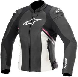 Alpinestars Stella Womens GP+ R V3 AF Black White Fuchsia Jacket