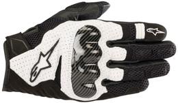 Alpinestars SMX-1 AIR V2 Black White Gloves