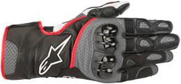 Alpinestars SP-2 V2 Black Grey Red Gloves