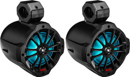 """Boss Audio 6.5"""" Pod Bluetooth Rgb Speakers - B62RGB"""