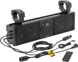 "Boss Audio Plug N Play 18"" Sound Bar 4 Speakers Fits 1.5-2"" Bars - BRT18A"