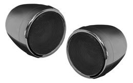 """Boss Audio 2 Speaker Bt Amplified Kit 3"""" Speakers Black Chrome - MCBC425BA"""