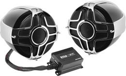 "Boss Audio 4"" Handlebar Mount 1000W 2-Speaker System - MC750B"