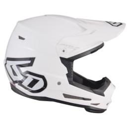 6D ATR-2 Solid Gloss White 2020 Helmet