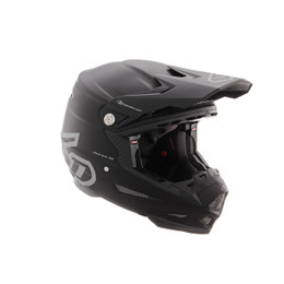 6D ATR-2Y Solid Matte Black Helmet Youth