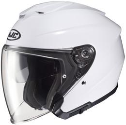 HJC i30 White Helmet