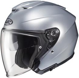 HJC i30 Silver Helmet