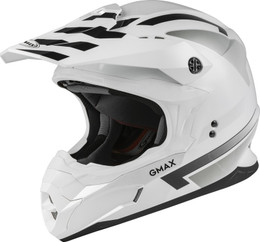 Gmax MX-86 OFF-Road Fame Helmet White Silver Grey