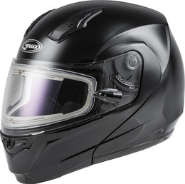 Gmax MD-04S Modular Snow Helmet W Electric Shield Black