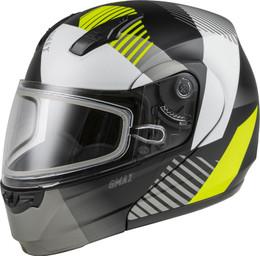 Gmax MD-04S Modular Reserve Snow Helmet Matte Black Hi-Vis
