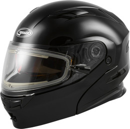 Gmax MD-01S Modular Snow Helmet W Electric Shield Black